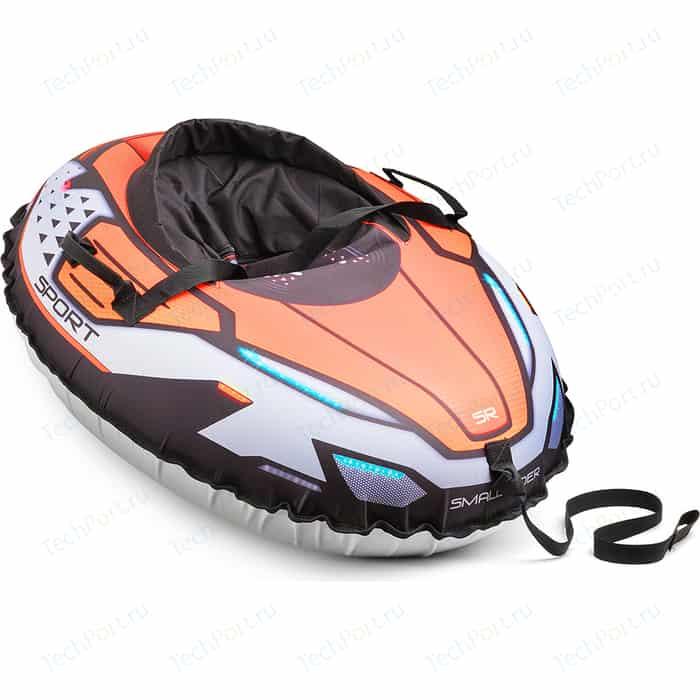 Санки-тюбинг Small Rider с сиденьем и ремнями Asteroid Sport (оранжевый) 1636859