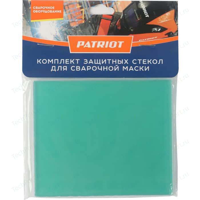 Стекло защиты фильтра PATRIOT 105х87,5 мм , 5 шт (300D,301D,350D,351D,400S) (880104745)