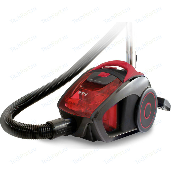 Пылесос Ginzzu VS429 серо/красный