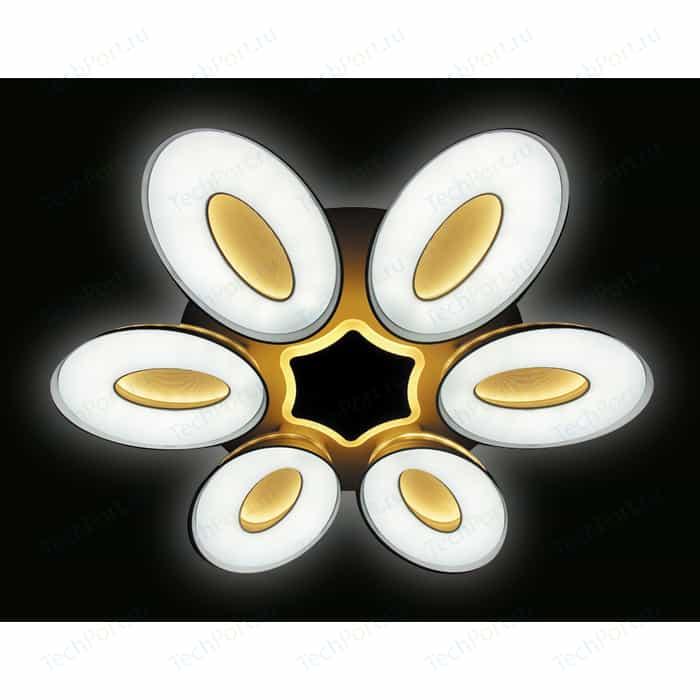 Управляемый светодиодный светильник Ambrella light FG1022/6+1 WH 144W+80W D1000