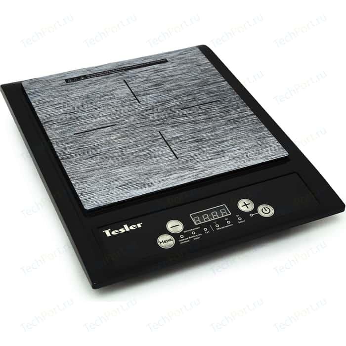 Настольная плита Tesler PI-13 черный