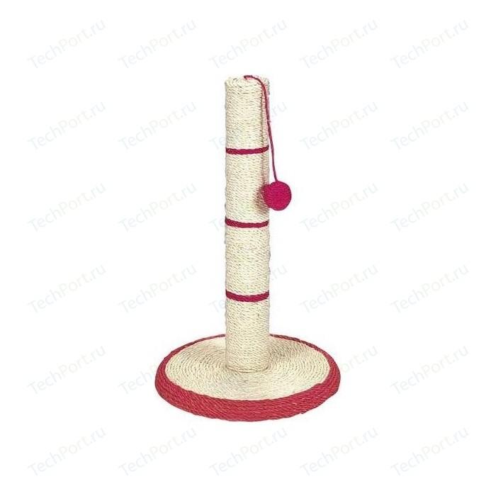 Когтеточка TRIXIE Столбик на подставке с игрушкой для кошек 50см (4309)