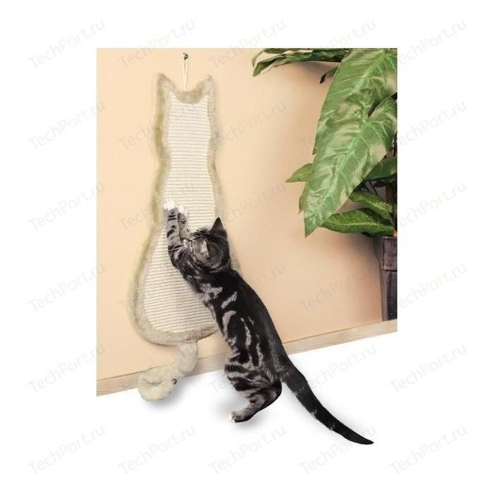цена на Когтеточка TRIXIE Кошка бежевая для кошек 35х69см (43112)