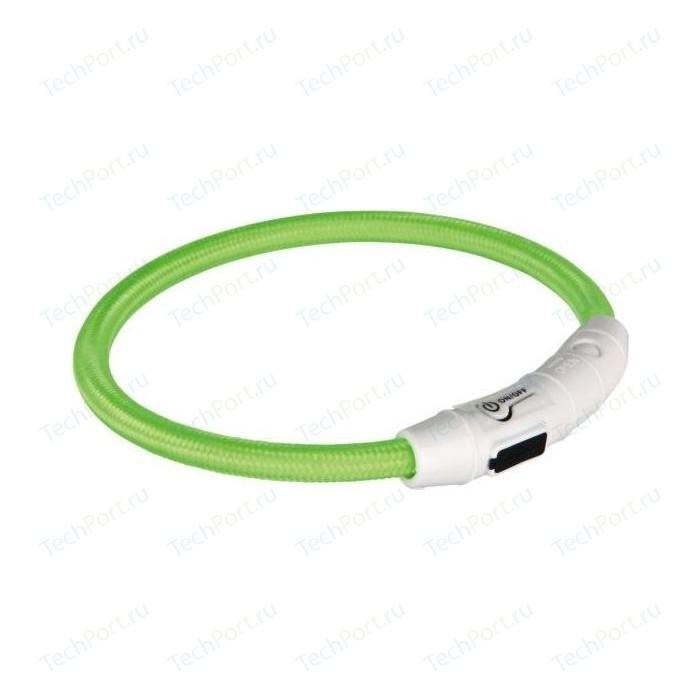 Ошейник TRIXIE Кольцо мигающее с USB XS-S 35см для собак (12700)