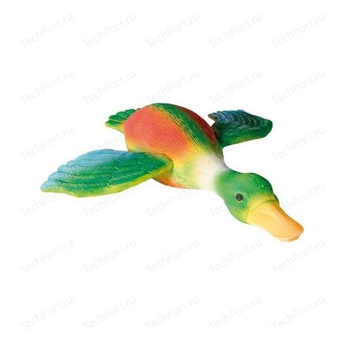 Игрушка TRIXIE Утка с крыльями пищащая 30см для собак (35492) trixie игрушка trixie для собак кость меховая пищащая 20 см