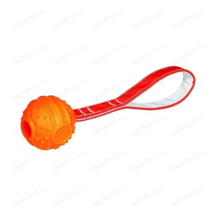 Игрушка TRIXIE Мяч на веревке Soft & Strong TPR ф6см/26см для собак (33516)
