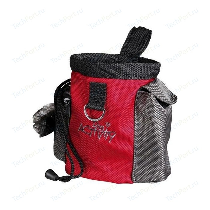 Сумка TRIXIE Baggy 2in1 для лакомств собак ф10х13см (32283)