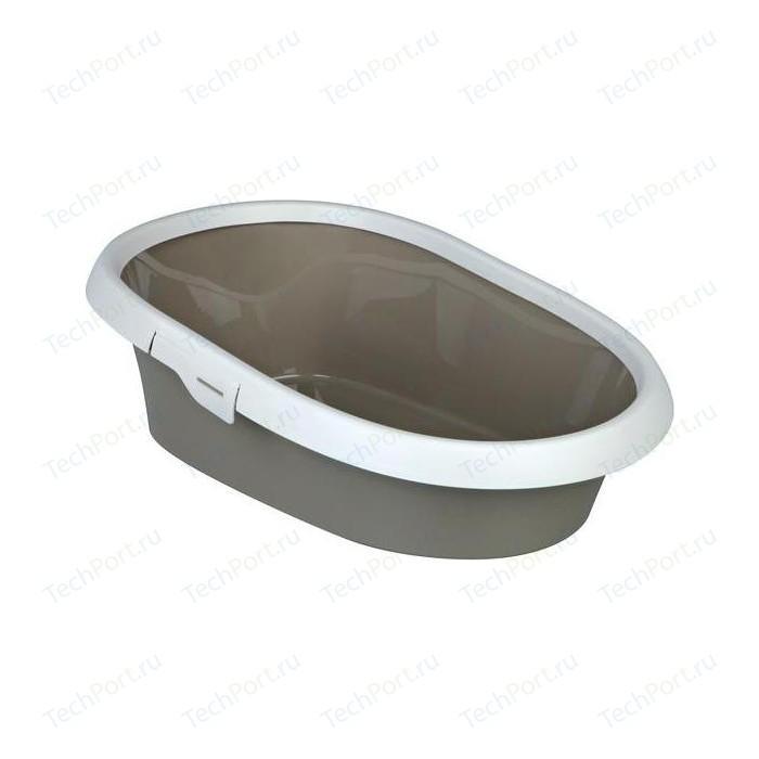 Туалет TRIXIE Paulo с бортиком для кошек 39*17*58 см (40331)