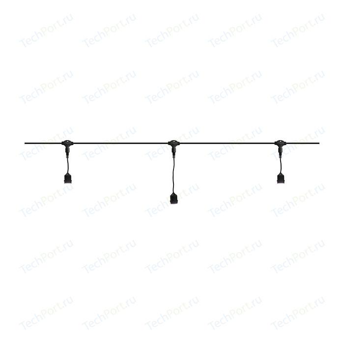 Light Комплект гирлянд Unibelt Cafe 10 (10 метров, 20 патронов, черный пр.)