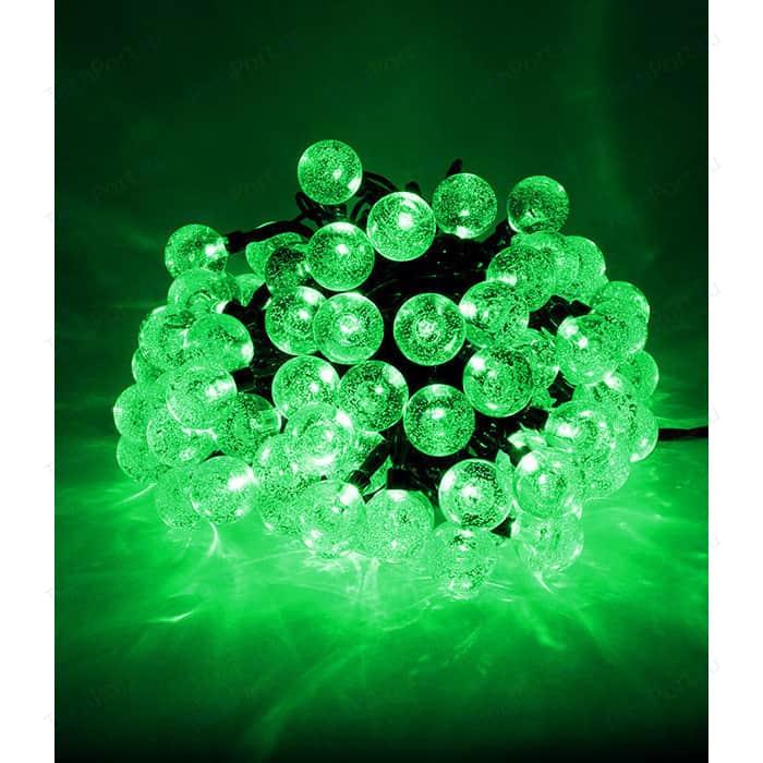Гирлянда светодиодная Light Пузырьки 10м, 100 led, 220-230V., D23 мм зеленый