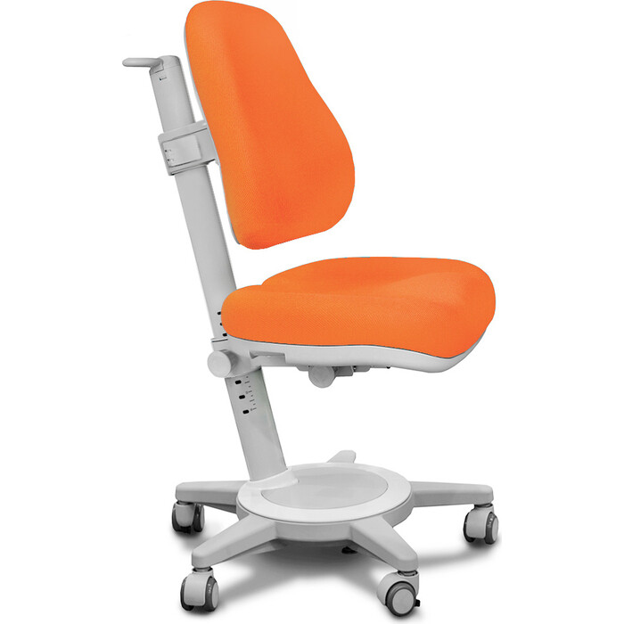 Кресло Mealux Cambridge (Y-410) KY обивка оранжевая однотонная