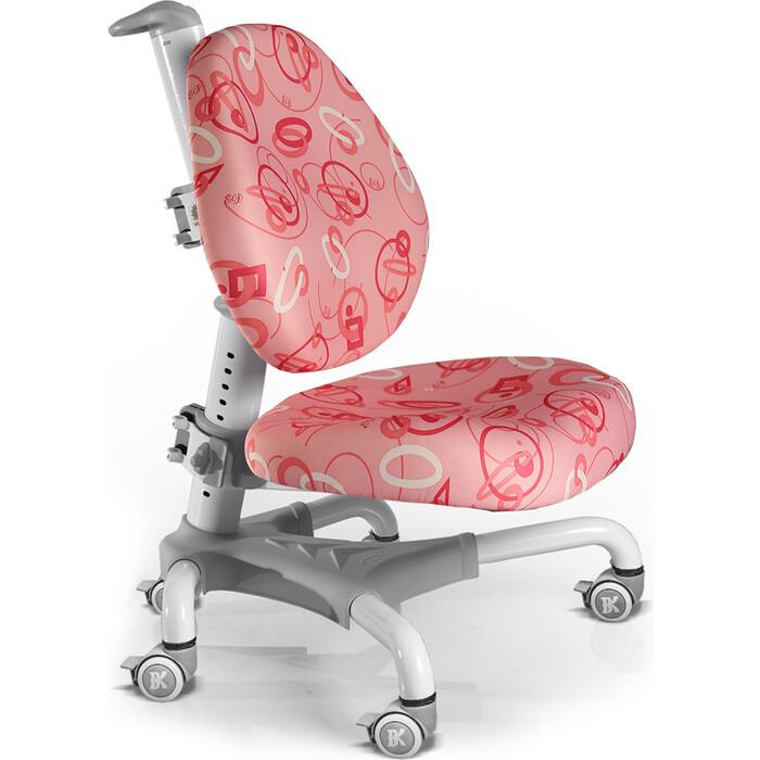Кресло Mealux Champion Y-718 WP белый металл/обивка розовая с кольцами