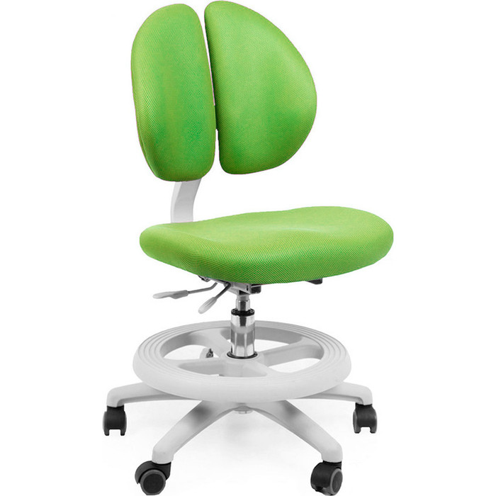Кресло Mealux Duo-Kid Standart Y-616 KZ обивка зеленая однотонная длинный газ.лифт