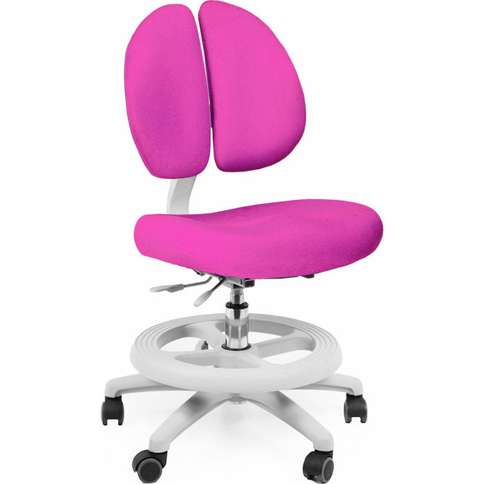 Кресло Mealux Duo-Kid Standart Y-616 KР обивка розовая однотонная длинный газ.лифт