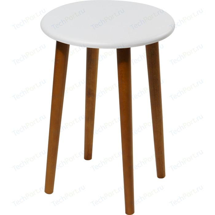 Табурет Калифорния мебель Орион белый.