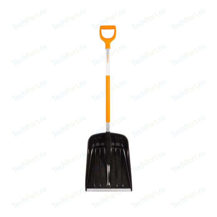 Фото - Лопата для уборки снега Fiskars облегченная SnowXpert (1026793 / 141001) щетка скребок fiskars snowxpert 1019352 белый оранжевый