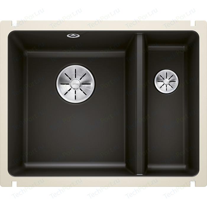 Кухонная мойка Blanco SubLine 350/150-U PuraPlus черный (523747)