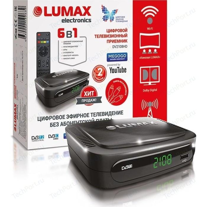 Тюнер DVB-T2 Lumax DV-2108HD