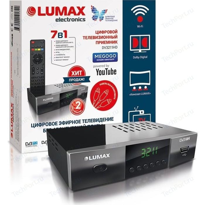 Тюнер DVB-T2 Lumax DV-3211HD