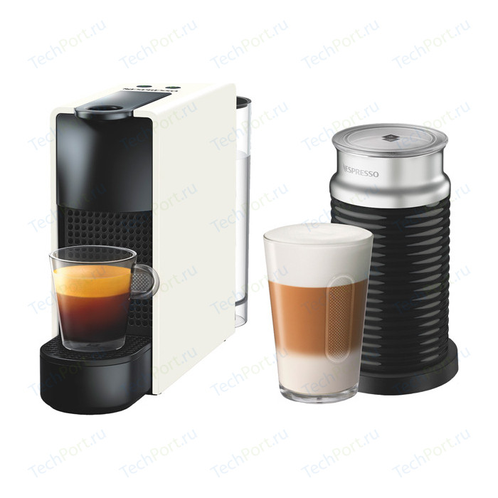 Капсульная кофемашина Nespresso Essenza Mini Bundle C30 White