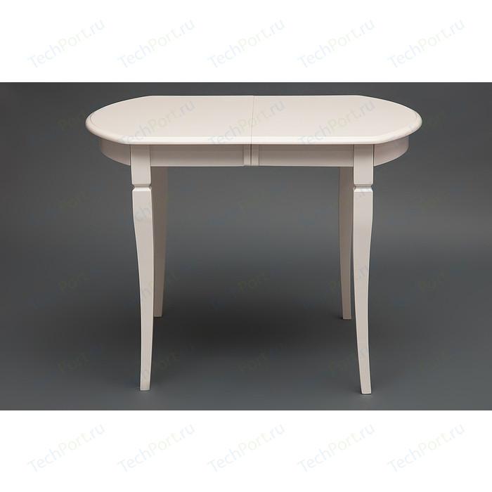 Стол раскладной TetChair Modena (MD-T4EX) дерево гевея/мдф, ivory white (слоновая кость 2-5)