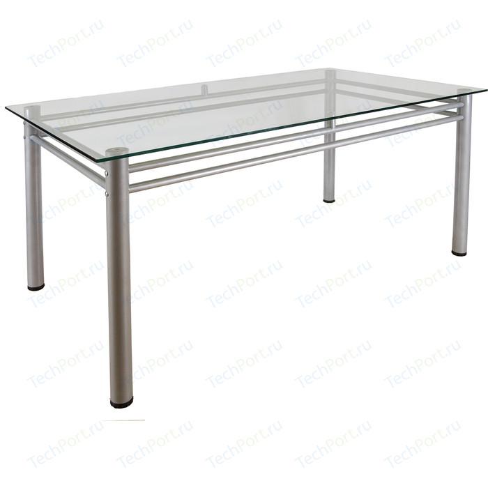 Стол обеденный Мебелик Робер 15 металлик без рисунка