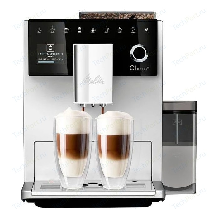 Кофемашина Melitta Caffeo CI Touch серебристый недорого