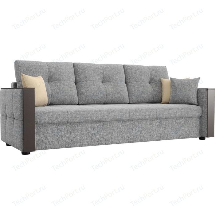 Фото - Диван прямой АртМебель Валенсия рогожка серый диван артмебель валенсия рогожка серый п образный
