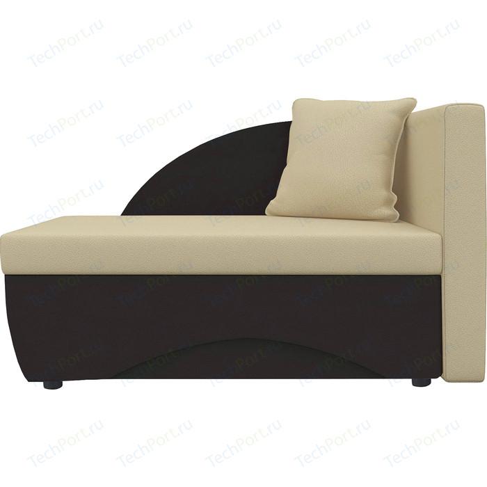 Кушетка Шарм-Дизайн Трио экокожа коричневый/бежевый правый кушетка шарм дизайн трио экокожа бежевый коричневый левый