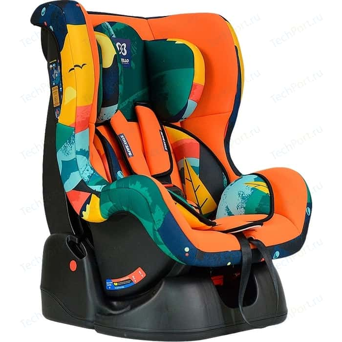 Автокресло Farfello GE-B космос оранжевый (orange+colorful)