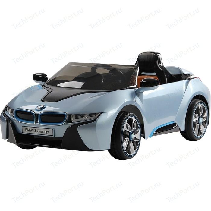 Электромобиль Farfello JE168 BMW i8 (лицензия, 12V, металлик, экокожа) синий