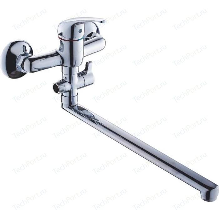 Смеситель для ванны GROSS AQUA Mini 350 универсальный (7210213-35F)