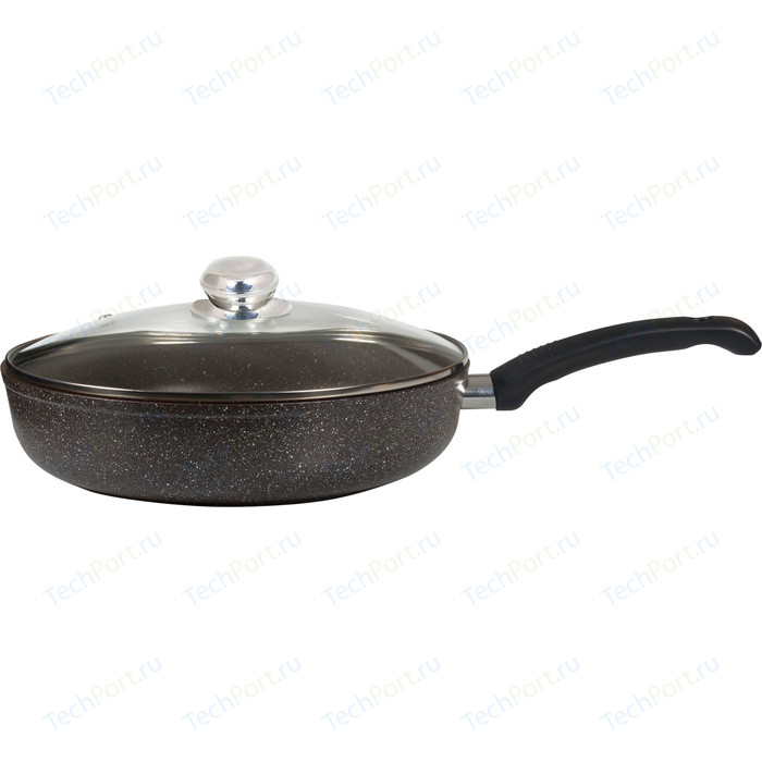 Сковорода с крышкой Panairo d 28см Harfe (HA-28-G)