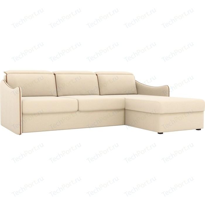 Фото - Диван угловой АртМебель Скарлетт рогожка бежевый правый угол диван угловой диван скарлетт правый скарлетт