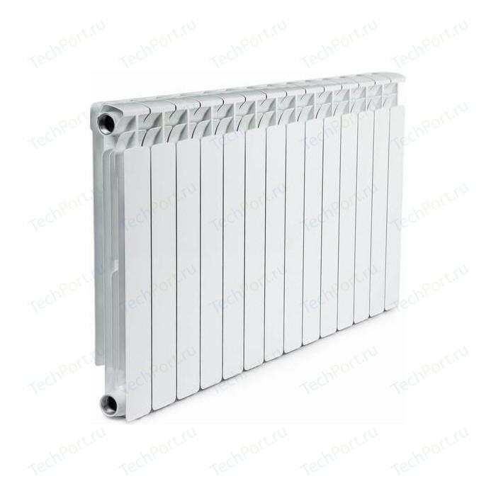 Радиатор отопления RIFAR ALP 500 14 секций биметаллический боковое подключение (RA50014) биметаллический радиатор rifar рифар b 500 нп 10 сек лев кол во секций 10 мощность вт 2040 подключение левое