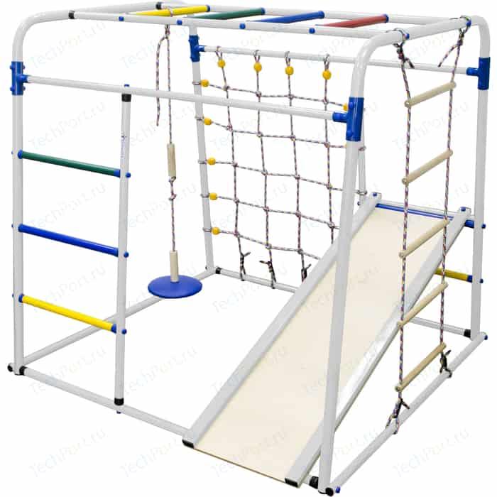 Детский спортивный комплекс Формула здоровья Start baby 1 Плюс белый-радуга