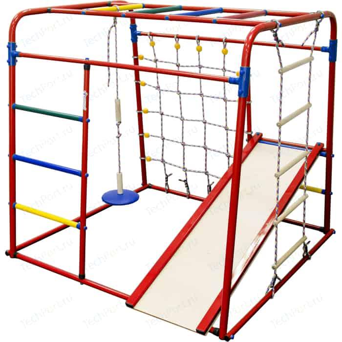 Детский спортивный комплекс Формула здоровья Start baby 1 Плюс красный/радуга