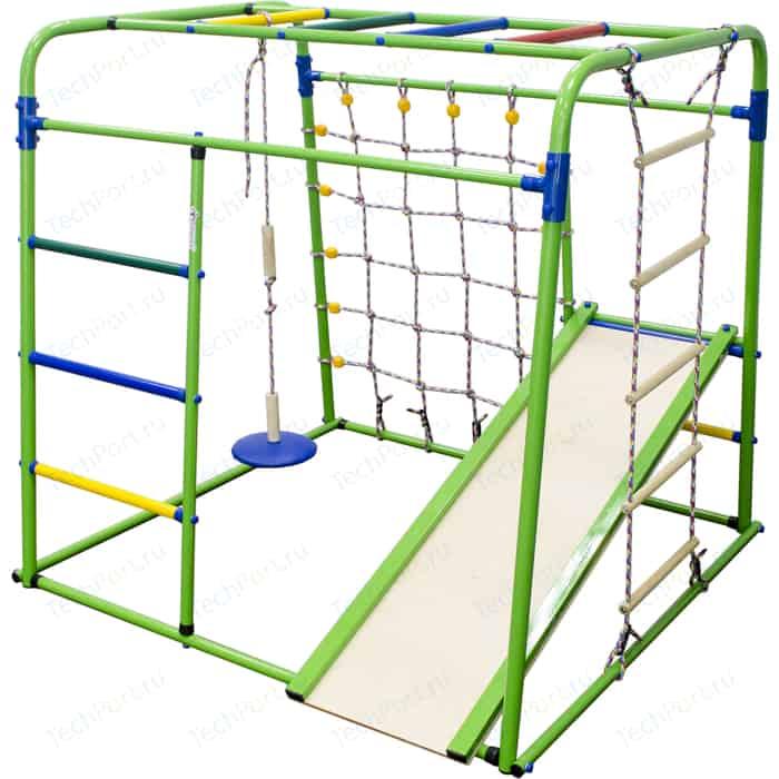 Детский спортивный комплекс Формула здоровья Start baby 1 Плюс салатовый/радуга