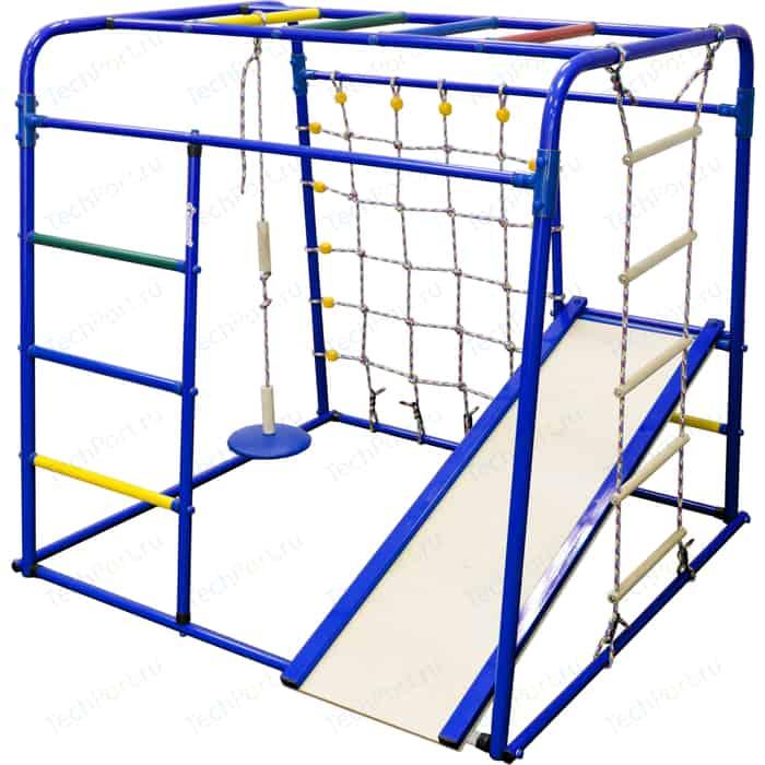 Детский спортивный комплекс Формула здоровья Start baby 1 синий/радуга