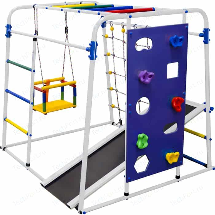 Детский спортивный комплекс Формула здоровья Start baby 2 Плюс белый/радуга