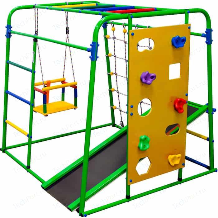 Детский спортивный комплекс Формула здоровья Start baby 2 Плюс салатовый/радуга