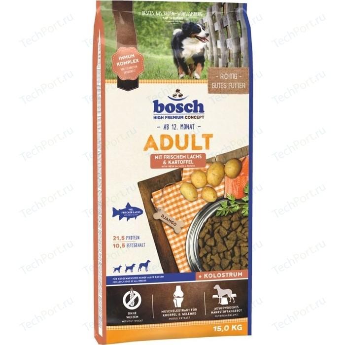 Сухой корм Bosch Petfood Adult Salmon & Potato с лососем и картофелем для собак 15кг (116437)