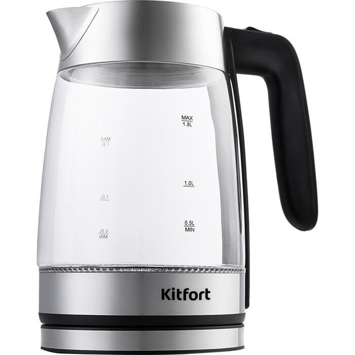 Чайник электрический KITFORT KT-641 чайник kitfort kt 632