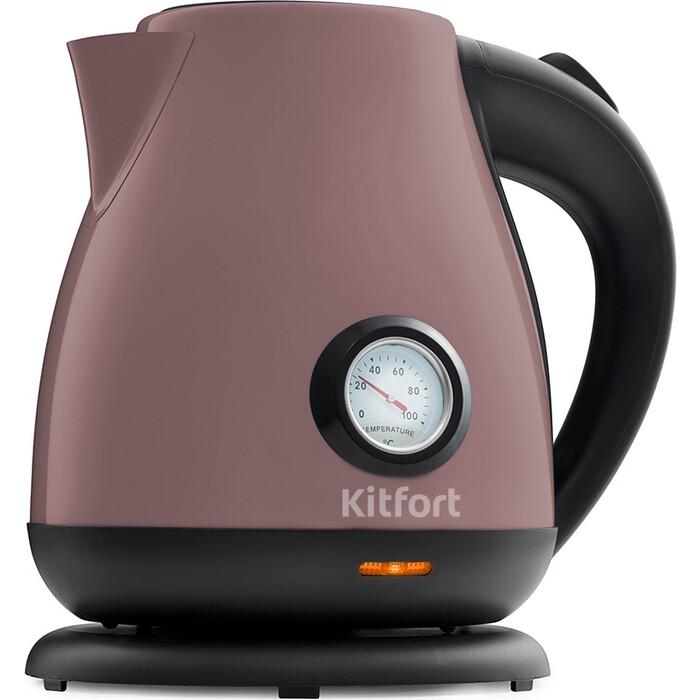 Чайник электрический KITFORT KT-642-4, лиловый