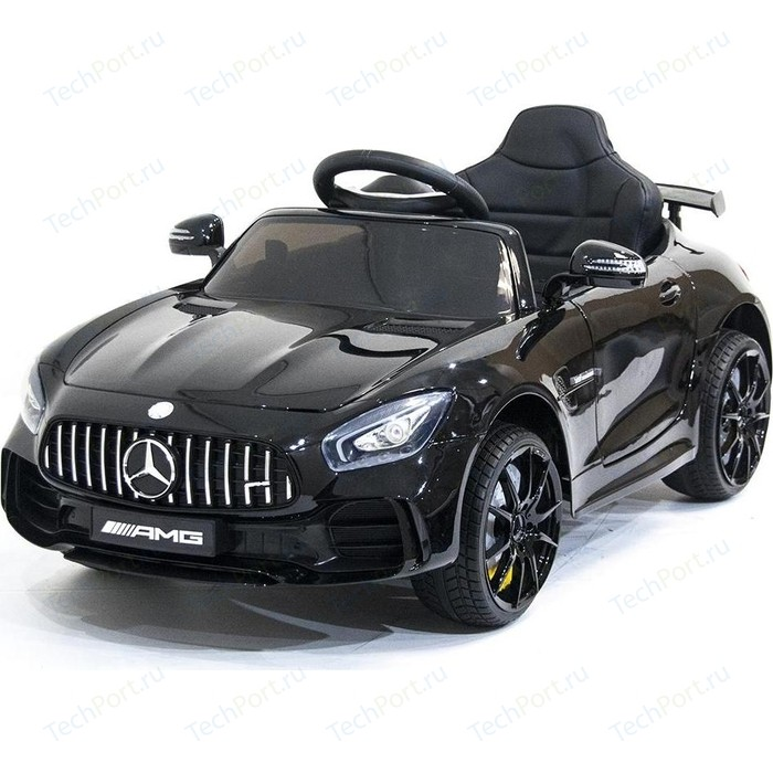 электромобили harleybella mercedes benz sl500 Детский электромобиль Harleybella Mercedes Benz AMG GT R 2.4G - Black - HL288