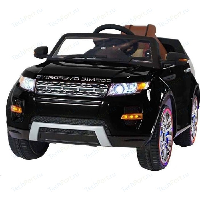Электромобиль Hollicy Range Rover Luxury Black 12V - SX118-S