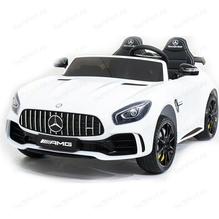 Электромобиль Harleybella Mercedes-Benz GT R 4x4 MP3 - HL289-WHITE-4WD