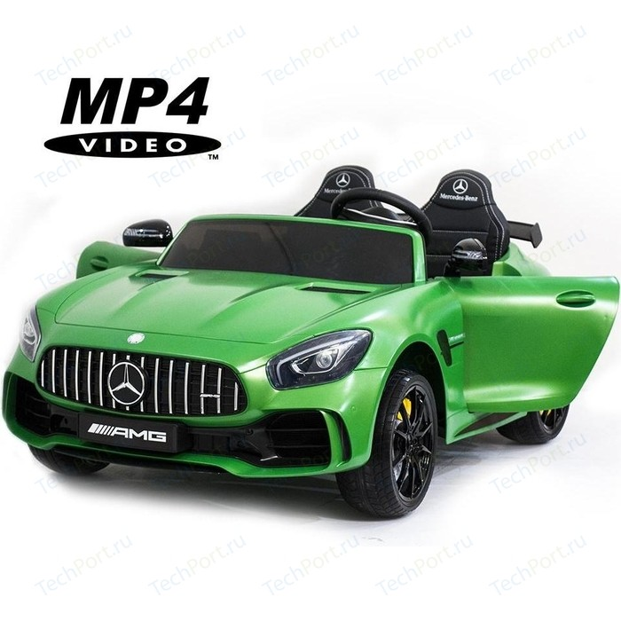 Электромобиль Harleybella Mercedes-Benz GT R 4x4 MP4 - HL289-MATTE-GREEN-4WD-MP4
