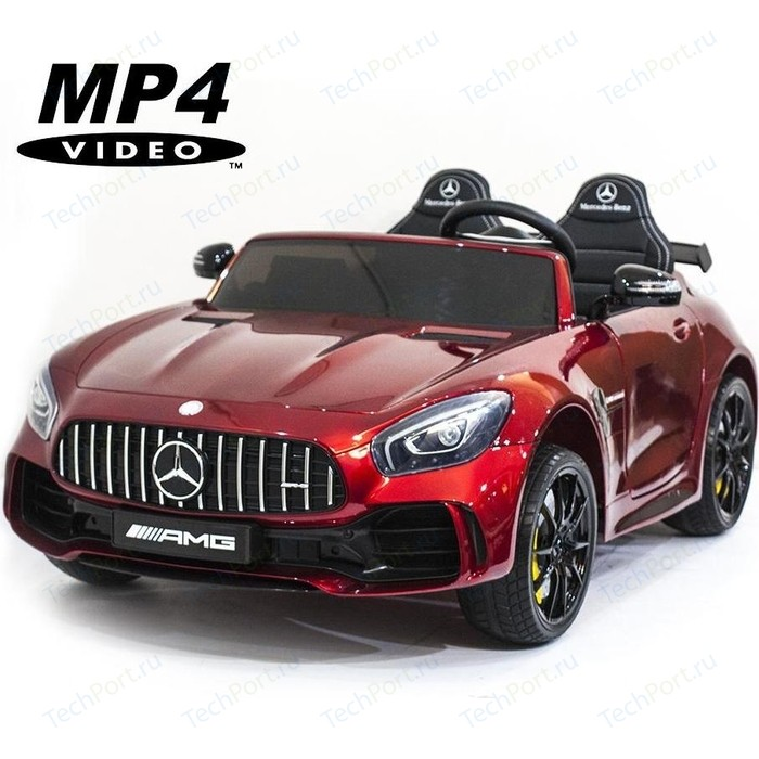 Электромобиль Harleybella Mercedes-Benz GT R 4x4 MP4 - HL289-RED-PAINT-4WD-MP4