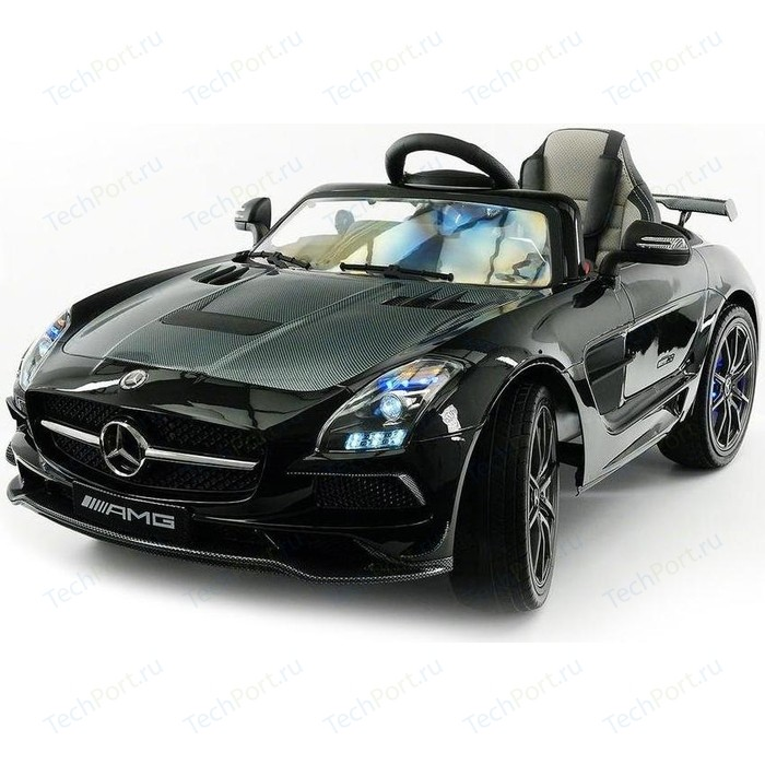 Электромобиль Hollicy Mercedes-Benz SLS AMG Black Carbon Edition - SX128-S
